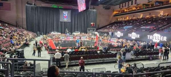 Orleans Arena, secção: 111, fila: D, lugar: 10