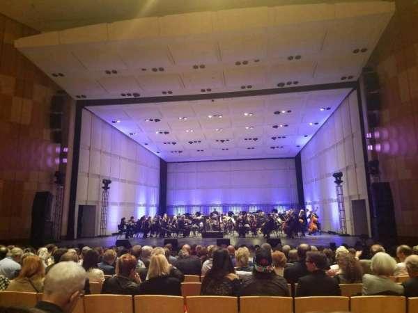 Phoenix Symphony Hall, secção: A, fila: 14, lugar: 7