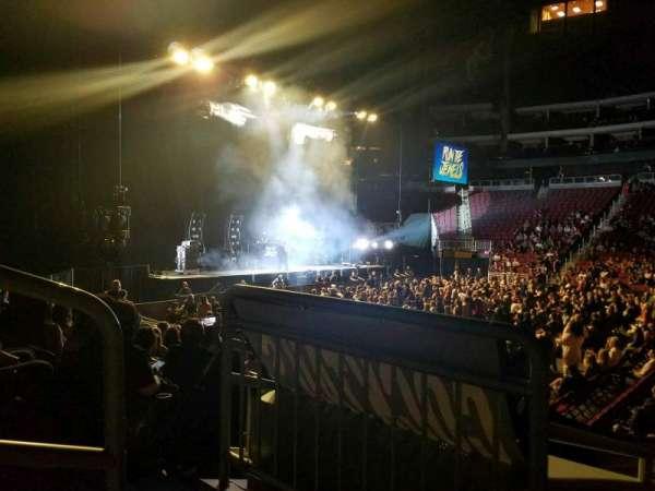 Gila River Arena, secção: 101, fila: I, lugar: 19