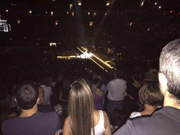Madison Square Garden, secção: 109, fila: 19, lugar: 15