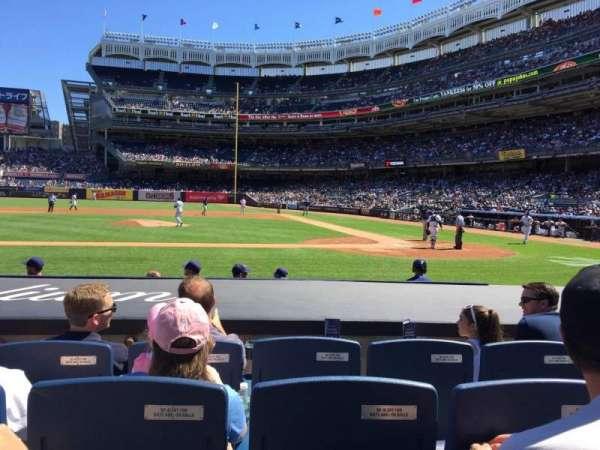 Yankee Stadium, secção: 023, fila: 4, lugar: 8