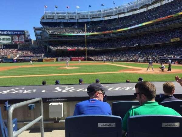 Yankee Stadium, secção: 023, fila: 4, lugar: 12