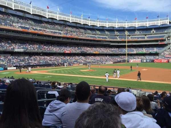 Yankee Stadium, secção: 114A, fila: 18, lugar: 11