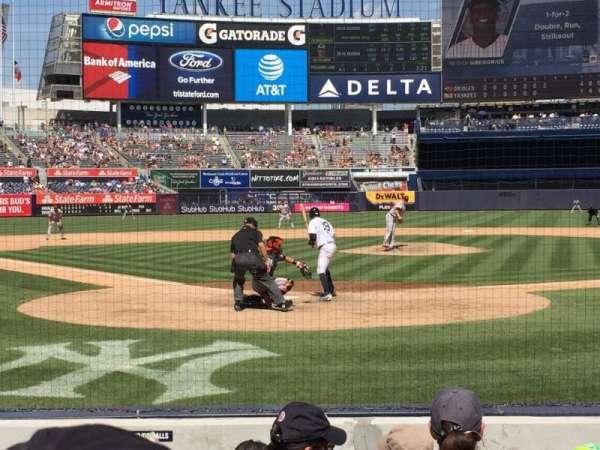 Yankee Stadium, secção: 019, fila: 5 , lugar: 6
