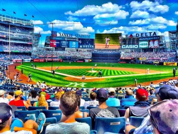 Yankee Stadium, secção: 120A, fila: 11, lugar: 3