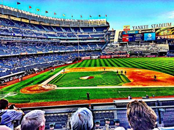 Yankee Stadium, secção: 216, fila: 4, lugar: 13