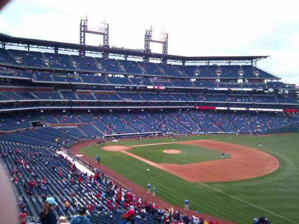 Citizens Bank Park, secção: 209, fila: 9, lugar: 19