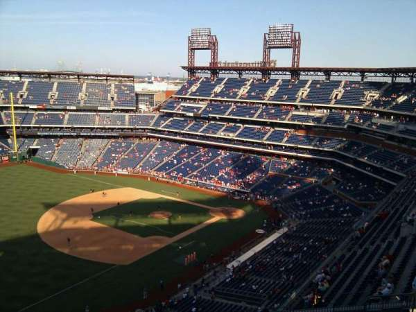 Citizens Bank Park, secção: 431, fila: 15, lugar: 14