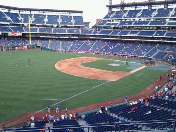 Citizens Bank Park, secção: 235, fila: 4, lugar: 15