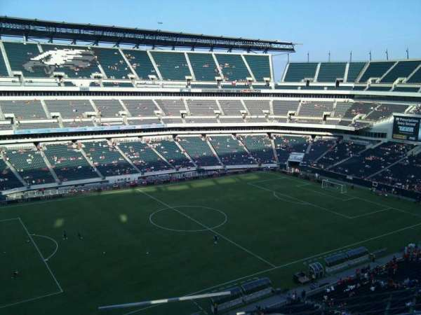 Lincoln Financial Field, secção: 241, fila: 4, lugar: 1