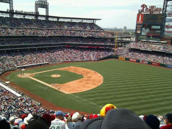Citizens Bank Park, secção: 310, fila: 18, lugar: 7