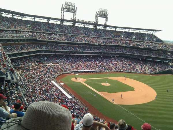 Citizens Bank Park, secção: 310, fila: 18, lugar: 6