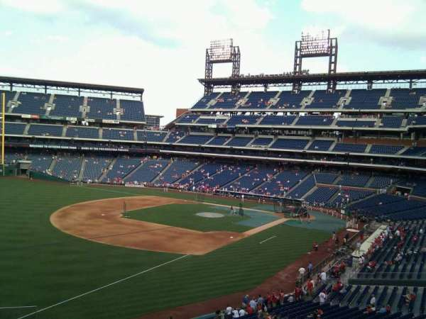 Citizens Bank Park, secção: 235, fila: 1, lugar: 5