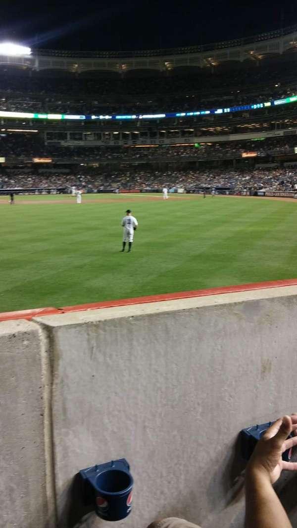 Yankee Stadium, secção: 136, fila: 11, lugar: 14