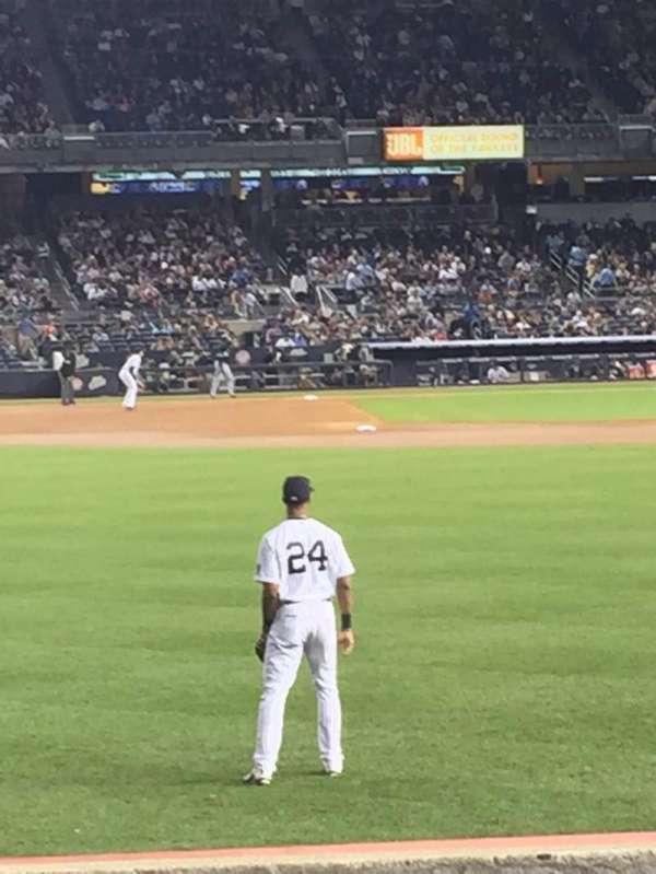 Yankee stadium, secção: 135, fila: 12, lugar: 20