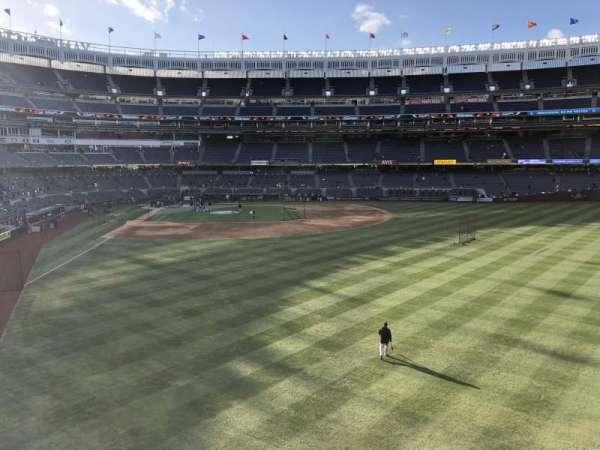 Yankee Stadium, secção: 205, fila: 1, lugar: 12