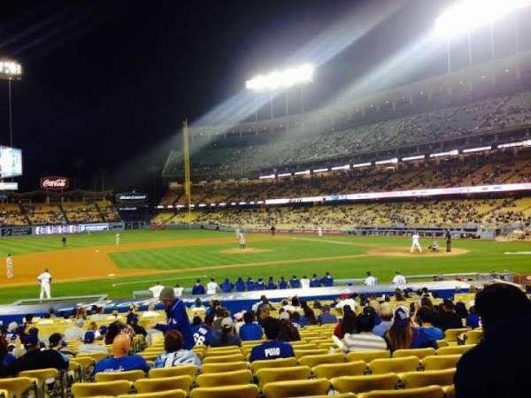 Dodger Stadium, secção: 22FD, fila: N, lugar: 3