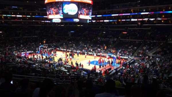 Staples Center, secção: PR2, fila: 12