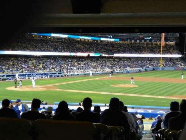 Dodger Stadium, secção: 20FD, fila: X