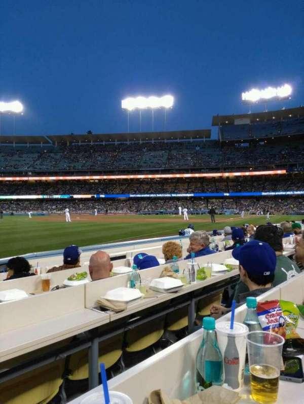 Dodger Stadium, secção: 43BL, fila: 6, lugar: 7
