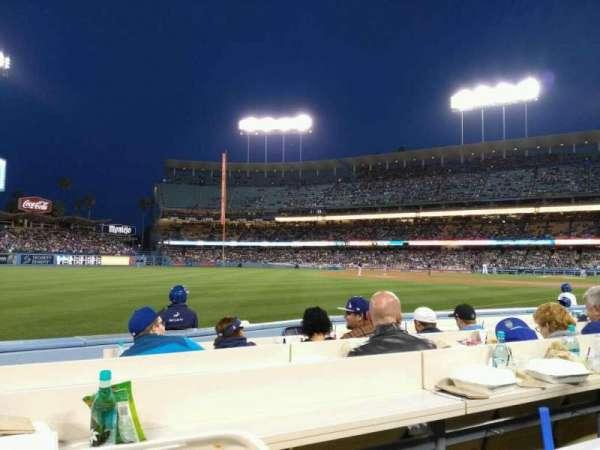 Dodger Stadium, secção: 43BL, fila: 6