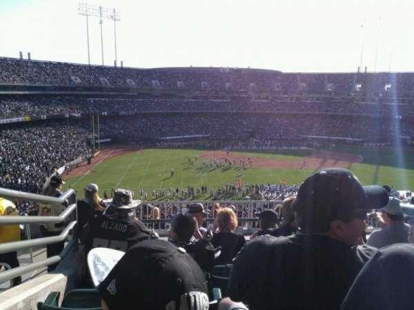 Oakland Coliseum, secção: 245, fila: 13, lugar: 15