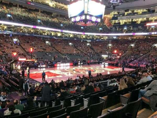 Scotiabank Arena, secção: 110, fila: 14, lugar: 6