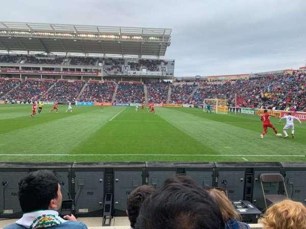SeatGeek Stadium, secção: 103, fila: 3, lugar: 2