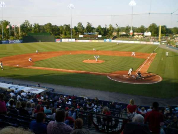 State Mutual Stadium, secção: 206, fila: 12, lugar: 1