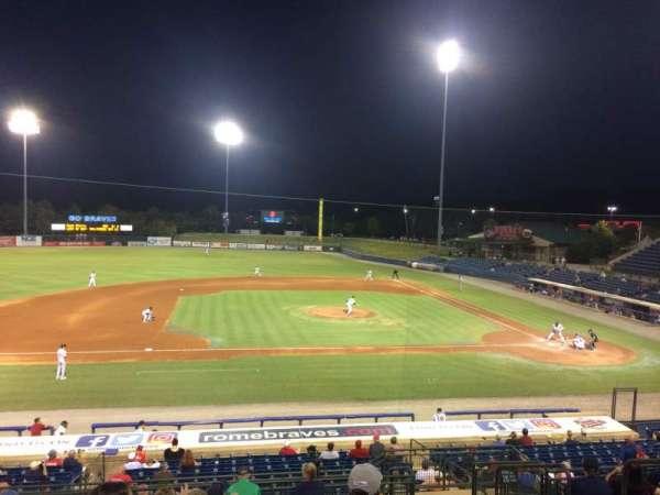 State Mutual Stadium, secção: 210, fila: 14, lugar: 12