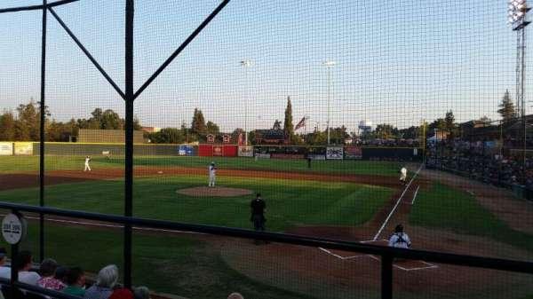 Rawhide Ballpark, secção: 206, fila: E, lugar: 3