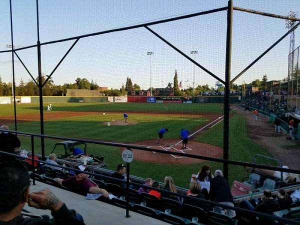Rawhide Ballpark, secção: 204, fila: F, lugar: 2