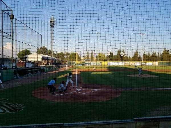 Rawhide Ballpark, secção: 103, fila: C, lugar: 2