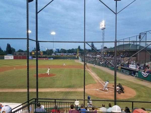 Rawhide Ballpark, secção: 208, fila: J, lugar: 8