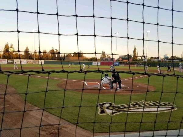 Rawhide Ballpark, secção: 102, fila: A, lugar: 6