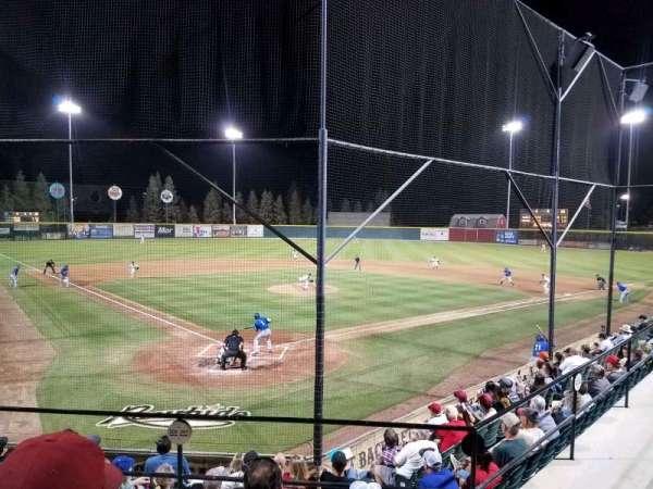 Rawhide Ballpark, secção: 201, fila: H, lugar: 4