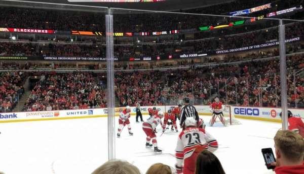 United Center, secção: 110, fila: 3, lugar: 9