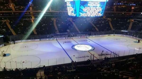 Madison Square Garden, secção: 222, fila: 5, lugar: Aisle