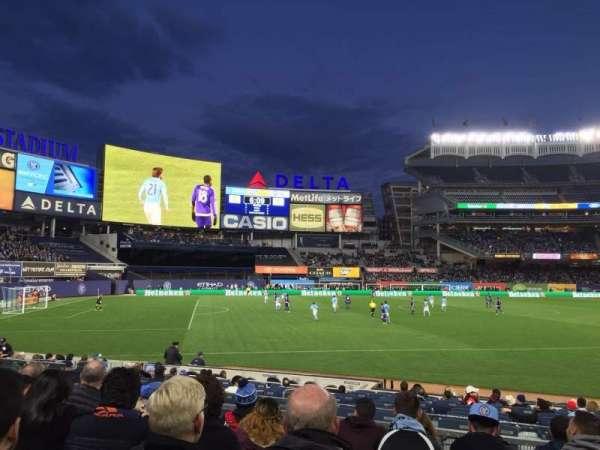 Yankee Stadium, secção: 128, fila: 6, lugar: 7