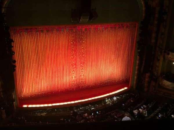 New Amsterdam Theatre, secção: Balcony L, fila: A, lugar: 5