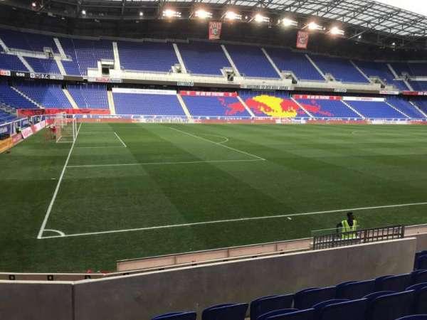 Red Bull Arena (New Jersey), secção: 113, fila: 8, lugar: 9