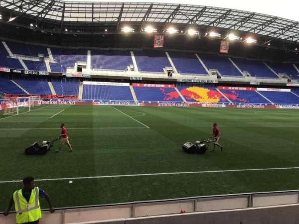 Red Bull Arena (New Jersey), secção: 112, fila: 4, lugar: 24