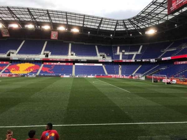 Red Bull Arena (New Jersey), secção: 108C, fila: 4, lugar: 3