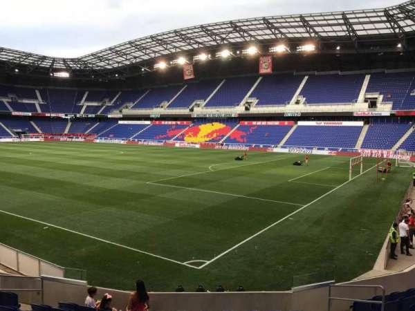 Red Bull Arena (New Jersey), secção: 105, fila: 10, lugar: 8