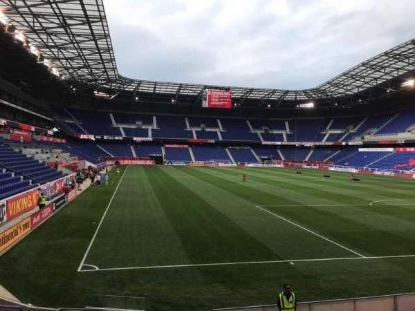 Red Bull Arena (New Jersey), secção: 103, fila: 9, lugar: 14