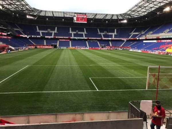 Red Bull Arena (New Jersey), secção: 102, fila: 7, lugar: 7