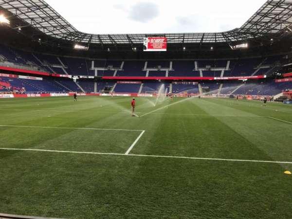 Red Bull Arena (New Jersey), secção: 117, fila: 1, lugar: 18