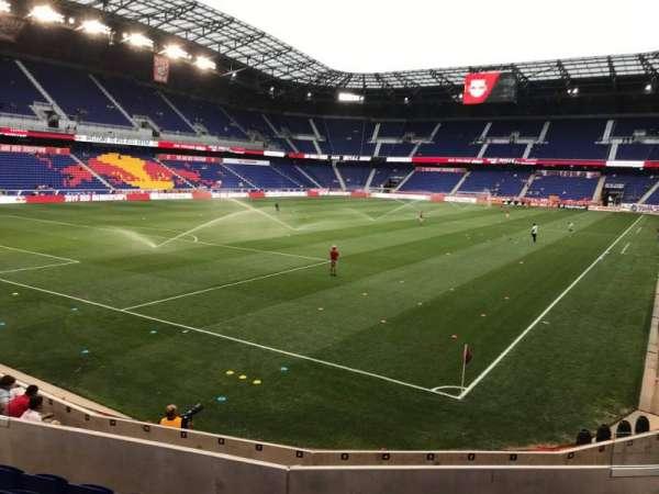 Red Bull Arena (New Jersey), secção: 115, fila: 9, lugar: 9