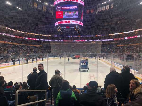 KeyBank Center, secção: 122, fila: 10, lugar: 25