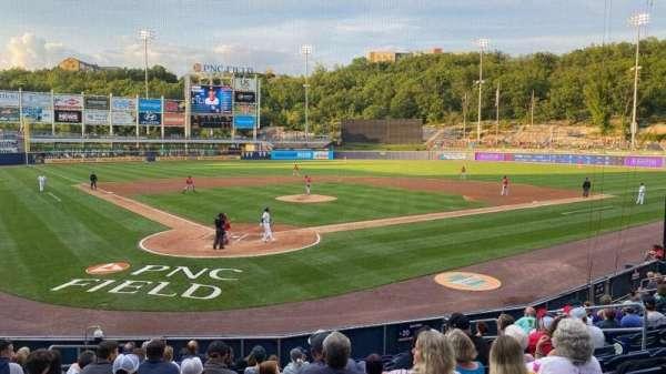 PNC Field, secção: 20, fila: 12, lugar: 10